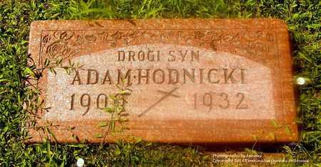 HODNICKI, ADAM - Lucas County, Ohio | ADAM HODNICKI - Ohio Gravestone Photos