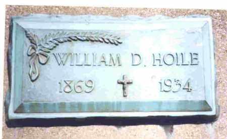 HOILE, WILLIAM DEAN - Lucas County, Ohio | WILLIAM DEAN HOILE - Ohio Gravestone Photos
