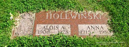 HOLEWINSKI, ALOIS A. - Lucas County, Ohio | ALOIS A. HOLEWINSKI - Ohio Gravestone Photos