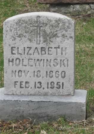 NAPIERALA HOLEWINSKI, ELIZABETH - Lucas County, Ohio | ELIZABETH NAPIERALA HOLEWINSKI - Ohio Gravestone Photos