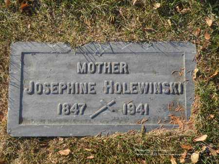 HOLEWINSKI, JOSEPHINE - Lucas County, Ohio | JOSEPHINE HOLEWINSKI - Ohio Gravestone Photos