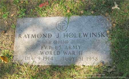 HOLEWINSKI, RAYMOND J. - Lucas County, Ohio   RAYMOND J. HOLEWINSKI - Ohio Gravestone Photos