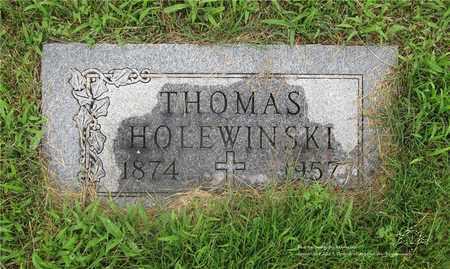 HOLEWINSKI, THOMAS - Lucas County, Ohio | THOMAS HOLEWINSKI - Ohio Gravestone Photos