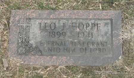 HOPPE, LEO J. - Lucas County, Ohio   LEO J. HOPPE - Ohio Gravestone Photos