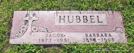 HUBBEL, JACOB - Lucas County, Ohio | JACOB HUBBEL - Ohio Gravestone Photos