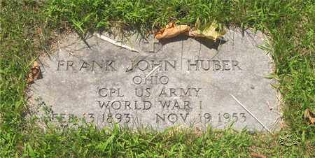 HUBER, FRANK JOHN - Lucas County, Ohio   FRANK JOHN HUBER - Ohio Gravestone Photos