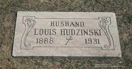 HUDZINSKI, LOUIS - Lucas County, Ohio | LOUIS HUDZINSKI - Ohio Gravestone Photos