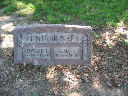 HUNTERBRINKER, EDWARD - Lucas County, Ohio | EDWARD HUNTERBRINKER - Ohio Gravestone Photos