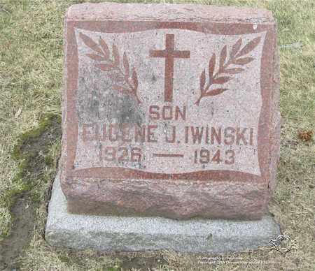 IWINSKI, EUGENE J. - Lucas County, Ohio | EUGENE J. IWINSKI - Ohio Gravestone Photos