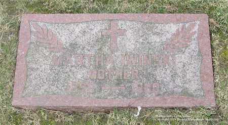 IWINSKI, MARTHA - Lucas County, Ohio | MARTHA IWINSKI - Ohio Gravestone Photos