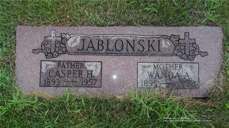 JABLONSKI, WANDA - Lucas County, Ohio | WANDA JABLONSKI - Ohio Gravestone Photos