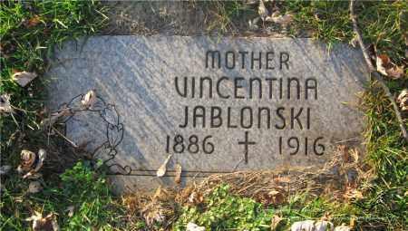 JABLONSKI, VINCENTINA - Lucas County, Ohio | VINCENTINA JABLONSKI - Ohio Gravestone Photos