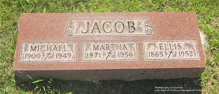 JACOB, MICHAEL - Lucas County, Ohio | MICHAEL JACOB - Ohio Gravestone Photos