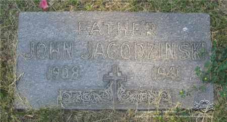 JAGODZINSKI, JOHN - Lucas County, Ohio | JOHN JAGODZINSKI - Ohio Gravestone Photos