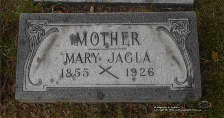 JAGLA, MARY - Lucas County, Ohio | MARY JAGLA - Ohio Gravestone Photos