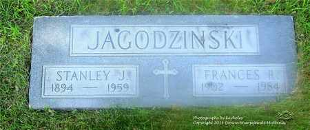 JAGODZINSKI, STANLEY J. - Lucas County, Ohio | STANLEY J. JAGODZINSKI - Ohio Gravestone Photos