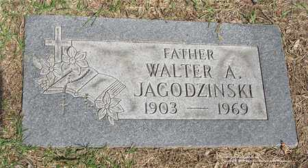 JAGODZINSKI, WALTER A. - Lucas County, Ohio | WALTER A. JAGODZINSKI - Ohio Gravestone Photos