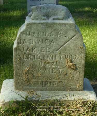 JAKIEL, JADWIGA - Lucas County, Ohio | JADWIGA JAKIEL - Ohio Gravestone Photos