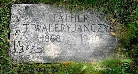 JANCZYK, T. WALERY - Lucas County, Ohio   T. WALERY JANCZYK - Ohio Gravestone Photos