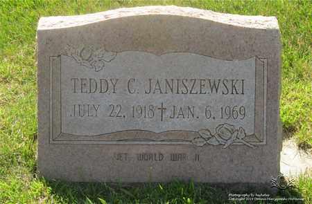 JANISZEWSKI, TEDDY C. - Lucas County, Ohio | TEDDY C. JANISZEWSKI - Ohio Gravestone Photos
