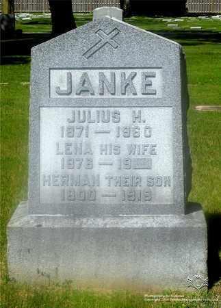 JANKE, JULIUS H. - Lucas County, Ohio | JULIUS H. JANKE - Ohio Gravestone Photos