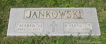 JANKOWSKI, ALFRED J. - Lucas County, Ohio   ALFRED J. JANKOWSKI - Ohio Gravestone Photos
