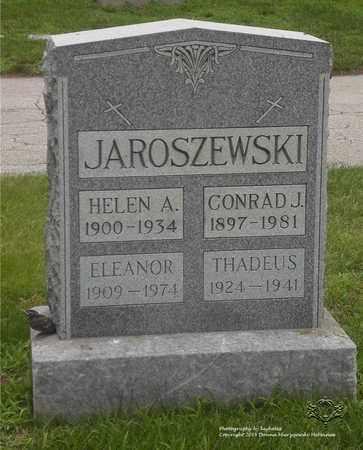 ERDMAN JAROSZEWSKI, ELEANOR - Lucas County, Ohio | ELEANOR ERDMAN JAROSZEWSKI - Ohio Gravestone Photos