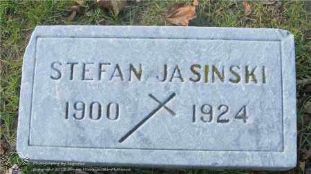 JASINSKI, STEFAN - Lucas County, Ohio | STEFAN JASINSKI - Ohio Gravestone Photos