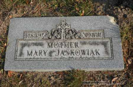 JASKOWIAK, MARY - Lucas County, Ohio | MARY JASKOWIAK - Ohio Gravestone Photos