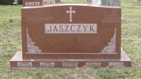 JASZCZYK, EDWARD - Lucas County, Ohio   EDWARD JASZCZYK - Ohio Gravestone Photos
