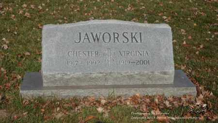 JAWORSKI, CHESTER - Lucas County, Ohio | CHESTER JAWORSKI - Ohio Gravestone Photos