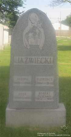 JAZWIECKI, FLORENCE - Lucas County, Ohio | FLORENCE JAZWIECKI - Ohio Gravestone Photos
