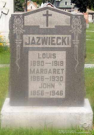 JAZWIECKI, MARGARET - Lucas County, Ohio   MARGARET JAZWIECKI - Ohio Gravestone Photos