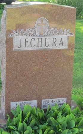 JECHURA, FERDINANDA - Lucas County, Ohio   FERDINANDA JECHURA - Ohio Gravestone Photos