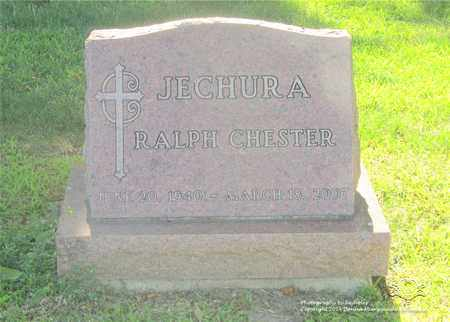 JECHURA, RALPH CHESTER - Lucas County, Ohio | RALPH CHESTER JECHURA - Ohio Gravestone Photos