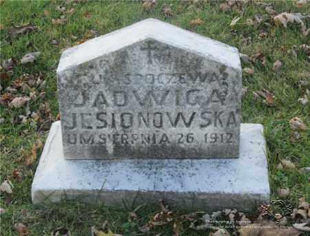 SULEWSKI JESIONOWSKA, JADWIGA - Lucas County, Ohio | JADWIGA SULEWSKI JESIONOWSKA - Ohio Gravestone Photos