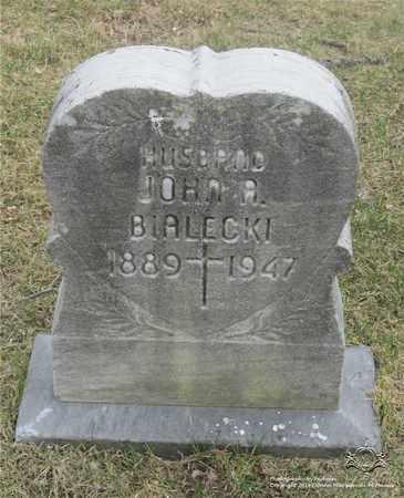 BIALECKI, JOHN A. - Lucas County, Ohio | JOHN A. BIALECKI - Ohio Gravestone Photos