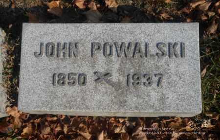 POWALSKI, JOHN - Lucas County, Ohio   JOHN POWALSKI - Ohio Gravestone Photos