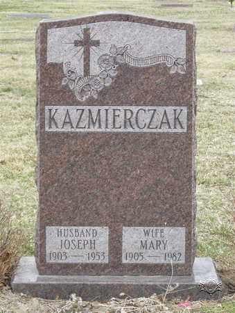 KAZMIERCZAK, MARY - Lucas County, Ohio | MARY KAZMIERCZAK - Ohio Gravestone Photos