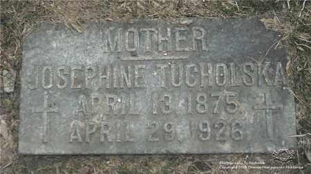 RADTKE TUCHOLSKA, JOSEPHINE - Lucas County, Ohio   JOSEPHINE RADTKE TUCHOLSKA - Ohio Gravestone Photos