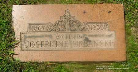 URBANSKI, JOSEPHINE - Lucas County, Ohio | JOSEPHINE URBANSKI - Ohio Gravestone Photos