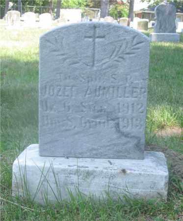 AUMILLER, JOZEF - Lucas County, Ohio   JOZEF AUMILLER - Ohio Gravestone Photos