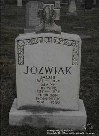 JOZWIAK, MARY - Lucas County, Ohio | MARY JOZWIAK - Ohio Gravestone Photos
