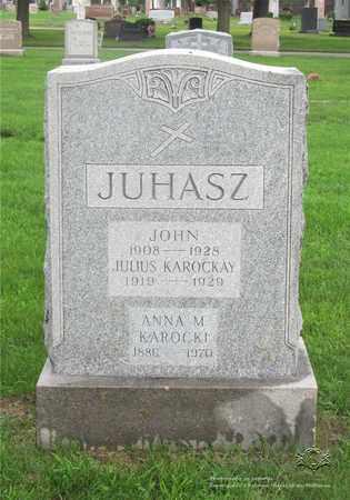 NAGY JUHASZ, ANNA - Lucas County, Ohio | ANNA NAGY JUHASZ - Ohio Gravestone Photos