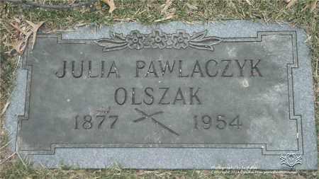 PAWLACZYK OLSZAK, JULIA - Lucas County, Ohio | JULIA PAWLACZYK OLSZAK - Ohio Gravestone Photos