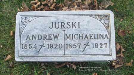 JURSKI, ANDREW - Lucas County, Ohio   ANDREW JURSKI - Ohio Gravestone Photos