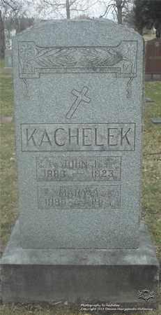 KACHELEK, JOHN L. - Lucas County, Ohio | JOHN L. KACHELEK - Ohio Gravestone Photos