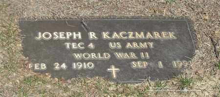 KACZMAREK, JOSEPH R. - Lucas County, Ohio | JOSEPH R. KACZMAREK - Ohio Gravestone Photos