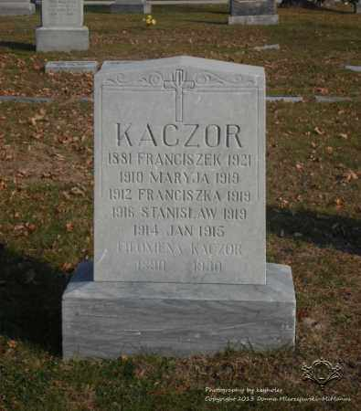 KACZOR, JAN - Lucas County, Ohio | JAN KACZOR - Ohio Gravestone Photos