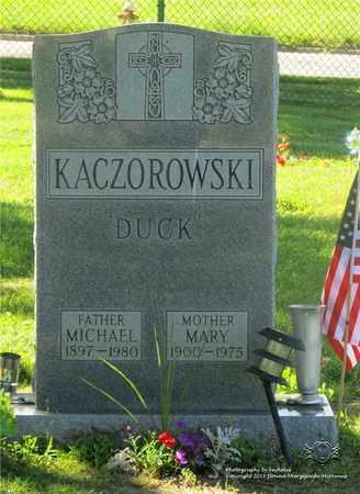 KACZOROWSKI, MARY - Lucas County, Ohio | MARY KACZOROWSKI - Ohio Gravestone Photos